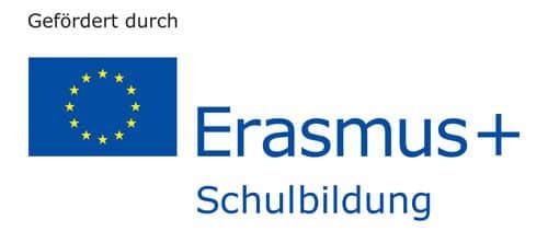 Gefördert durch das Erasmus+ Schulbildung Programm