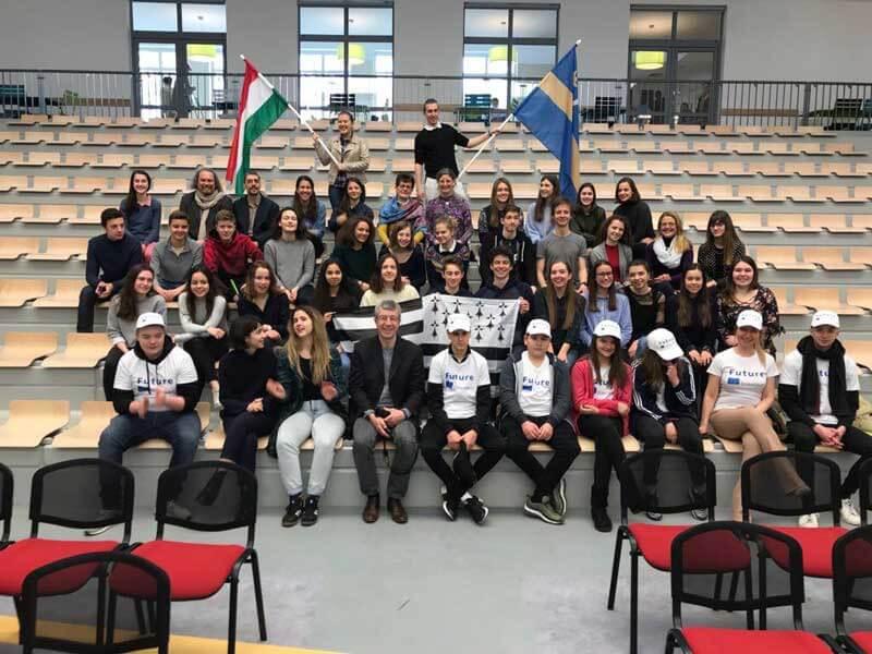 TeinehmerInnen am Projekt Future im Rahmen des Erasmus+ Programms