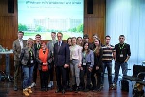 Die Schüler der SABEL FOS treffen Jens Weidmann, Präsident der Deutschen Bundesbank