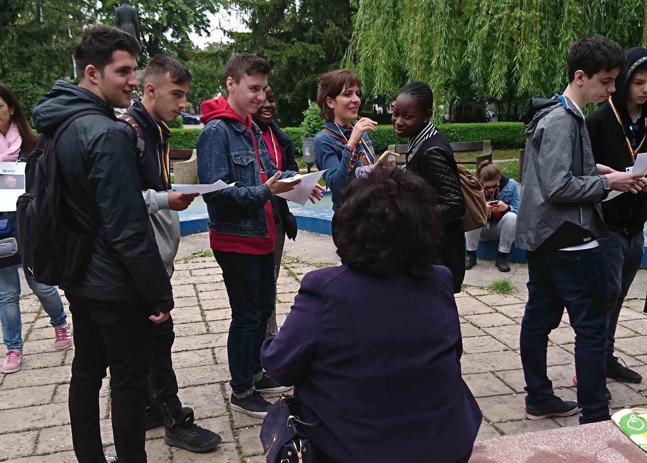 TeilnehmerInnen am Projekt Inlusion im Rahmen von ErasmusPlus