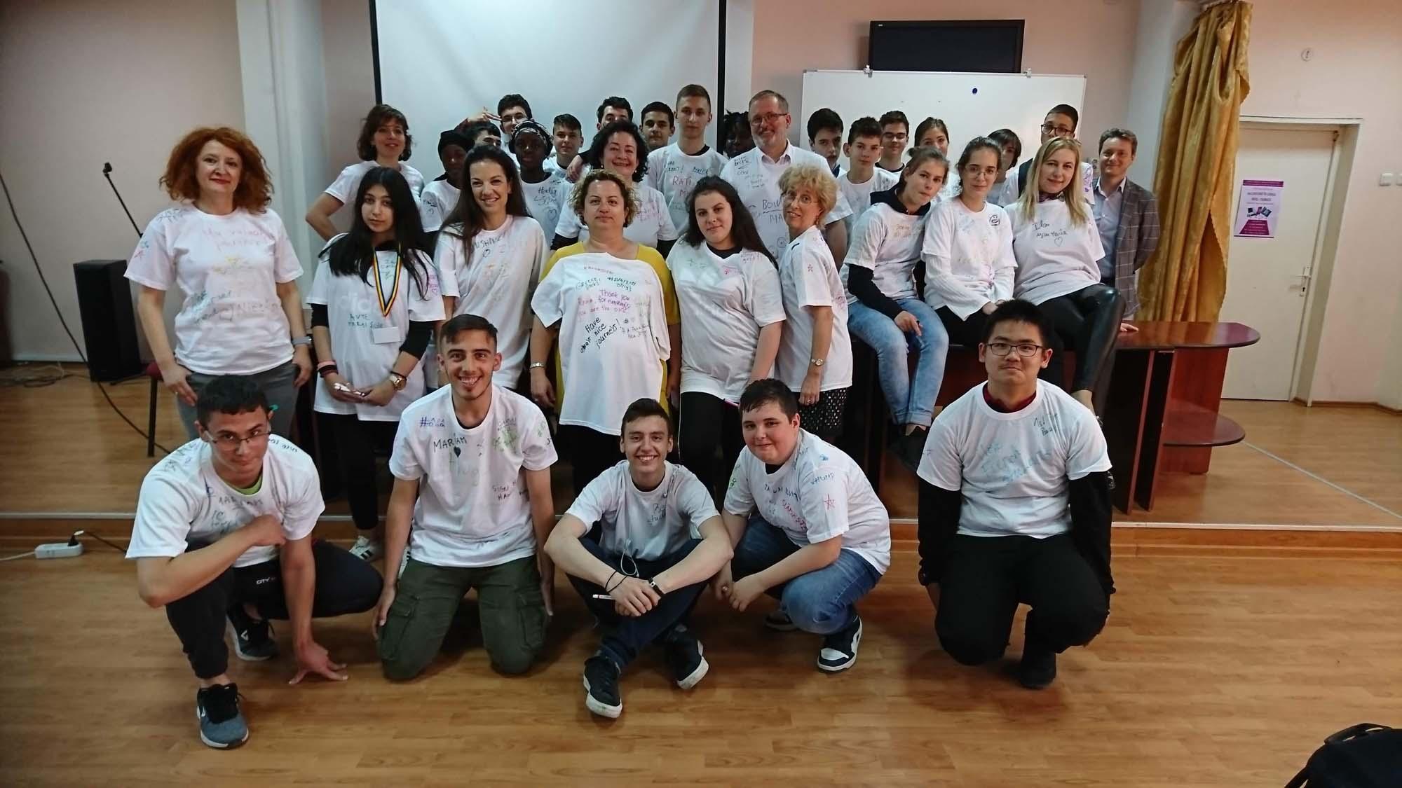 """Teilnehmer des Projekts """"Inclusion in secondary school"""" - mit dabei SABEL Wirtschaftsschule"""