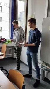 Die Vorbereitungen in der SABEL FOS zu den Voträgen beim Bundesdeutschen Vorlesetag