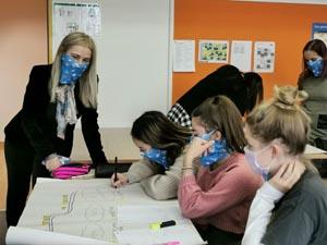Gemeinsam Gedanken machen zum Thema der Erasmus Days 2020