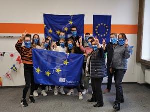 Das komplette Team der SABEL FOS während der Erasmus Days