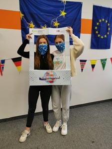 Schülerinnen der SABEL FOS während der Erasmus Days