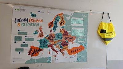 Plakat Europa Erleben und Gestalten