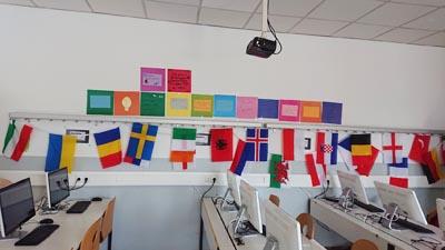 an den Europa Days nehmen viele verschiedene Nationen teil