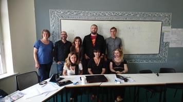 SABEL Lehrkräfte im Seminarraum der ErasmusPlus Fortbildung